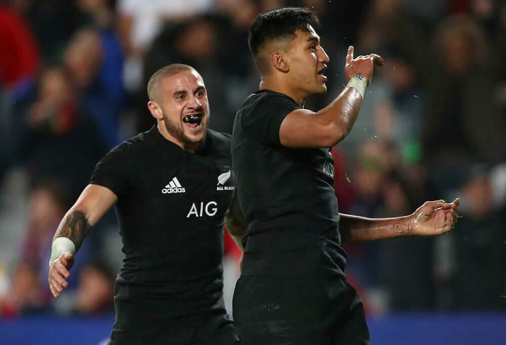 Rampant Rieko keeps All Blacks on top of the world