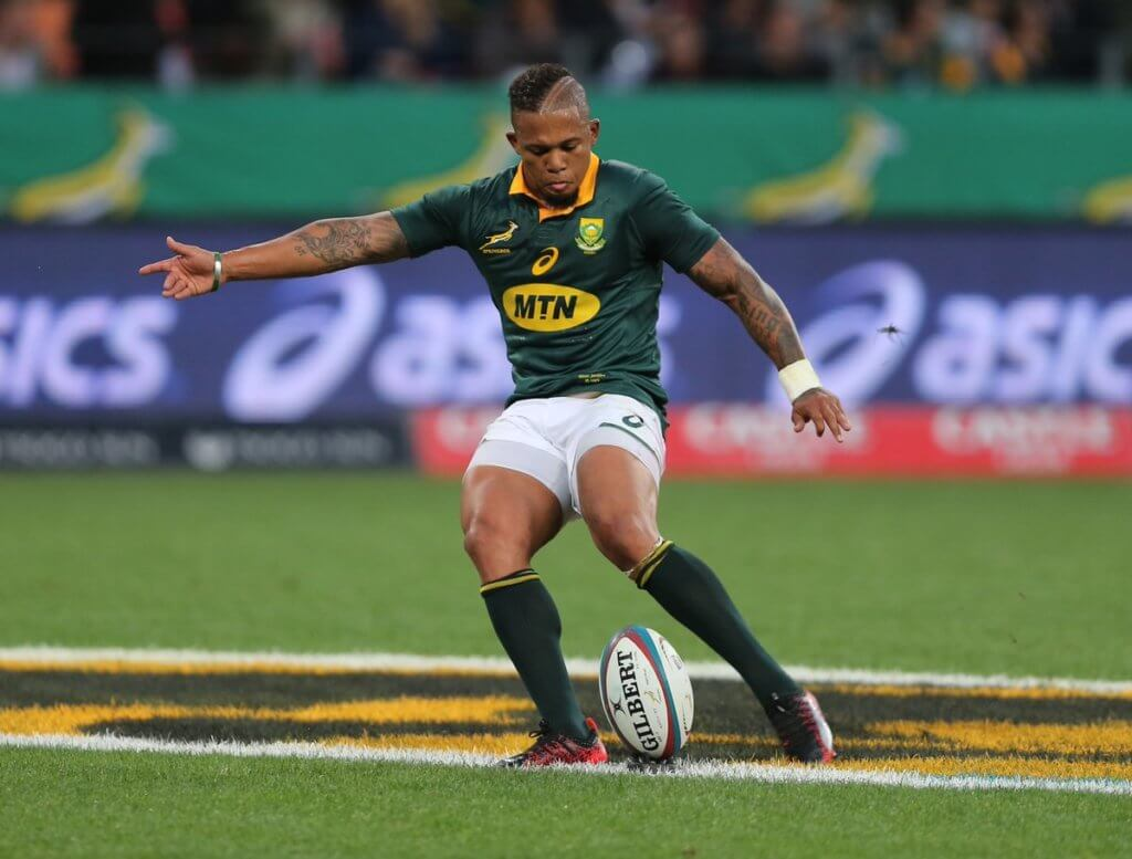 Boks keep faith with Jantjies as Ireland add a Kiwi to the mix