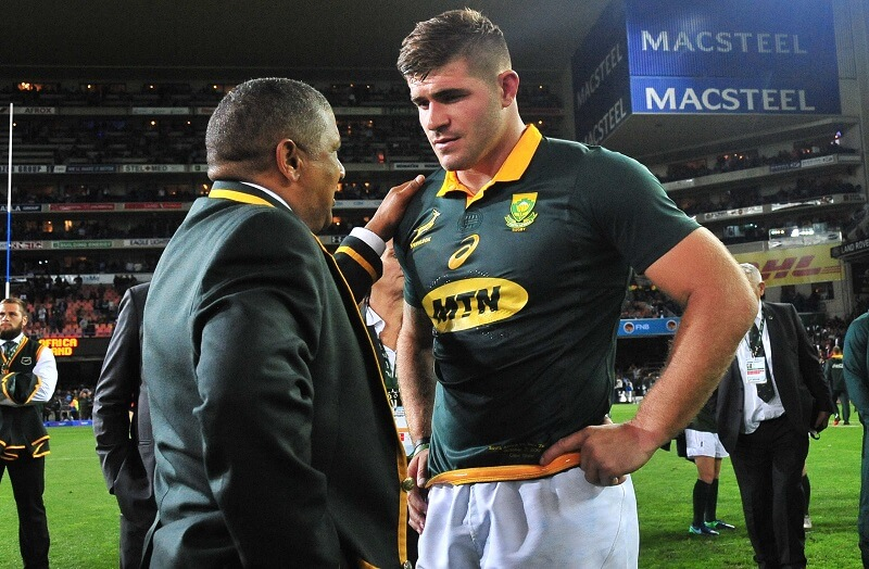 Injury muzzles Marx but it's same old for Coetzee's Boks