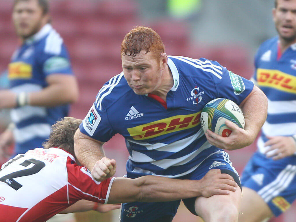 Raving about Stormers prop Steven Kitshoff