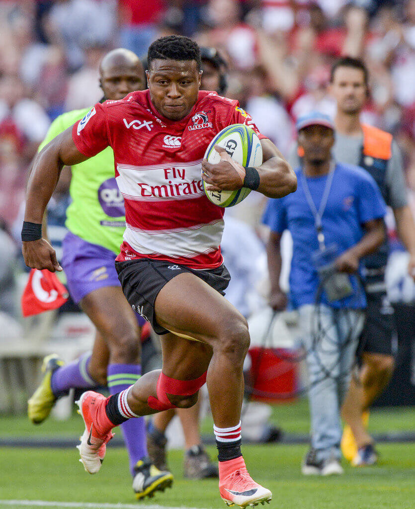 Dynamic Lions winger Dyantyi too hot for ill-disciplined Jaguares