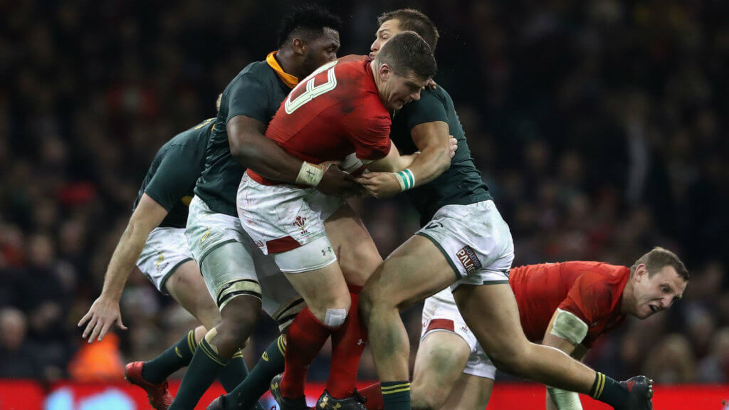 Springboks to face Wales in Washington