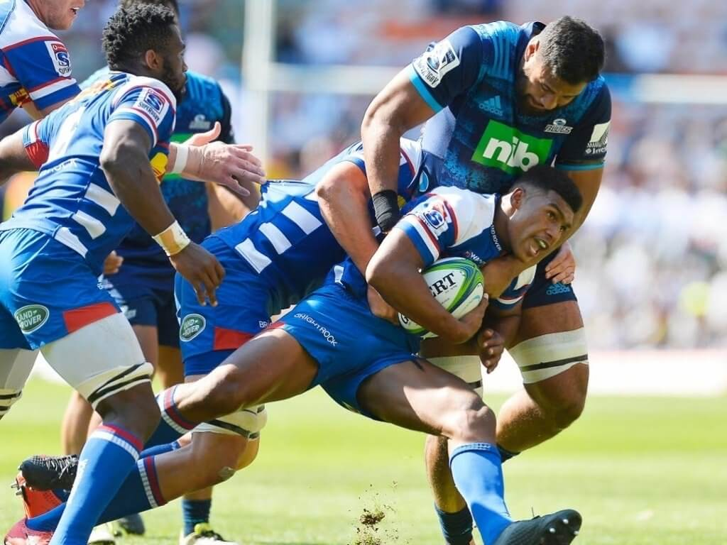Ranting about the blue on blue jersey confusion, raving about colossal Kolisi