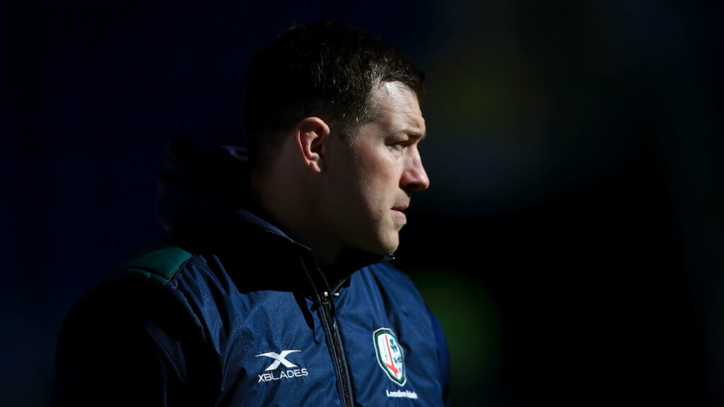 Director of rugby Kennedy leaves London Irish