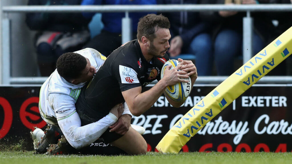 Champions Chiefs move seven points clear with win over Sarries