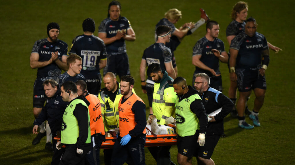 Cipriani 'feeling fine' after head clash in Sale defeat