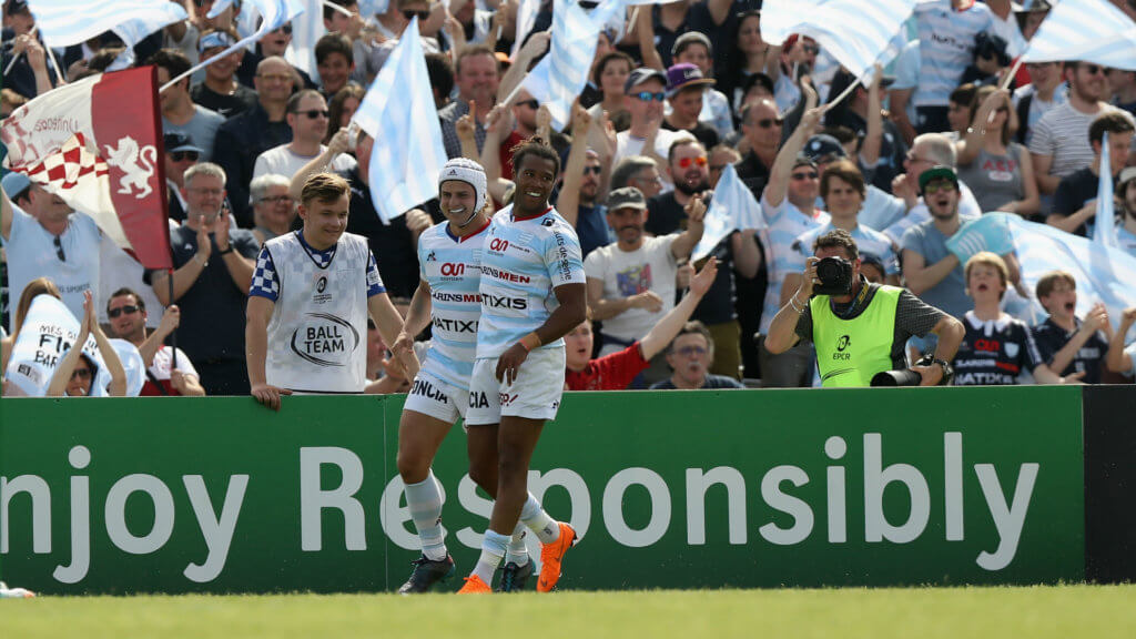Rapid start sees Racing through to Champions Cup final