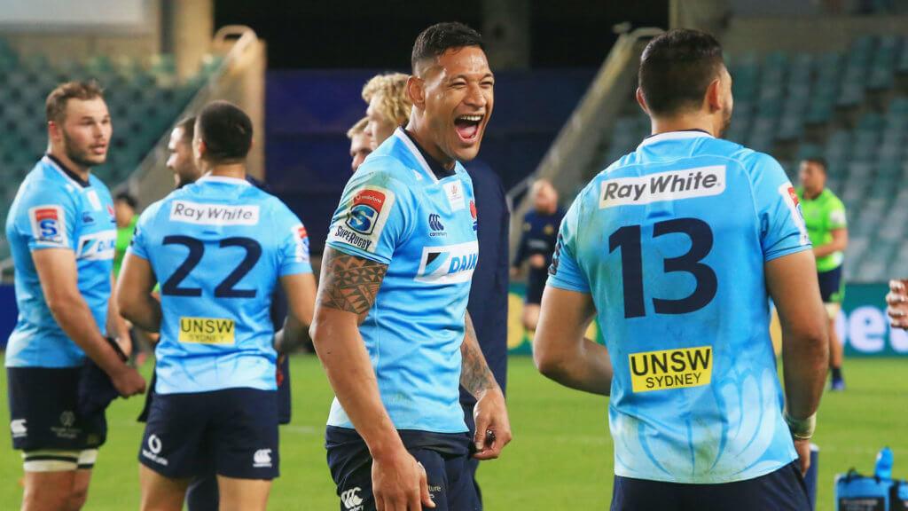 Nabura dismissed for wild kick as Waratahs end New Zealand hoodoo
