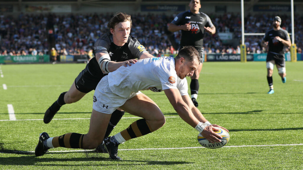 Wasps edge out Newcastle as departing Banahan inspires Bath