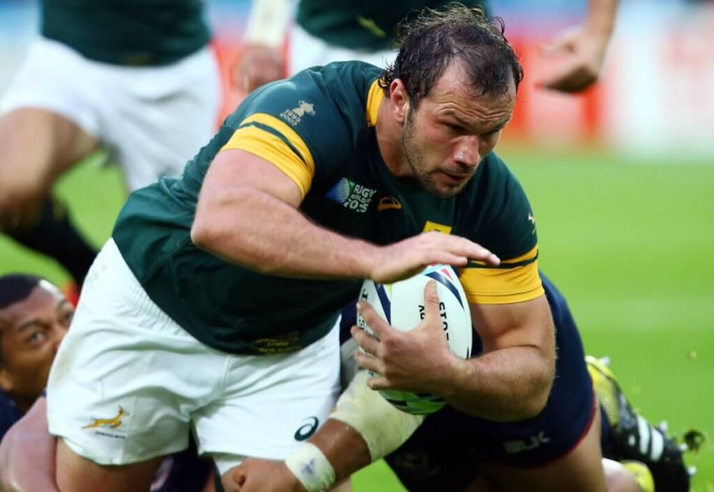 Bismarck du Plessis and Keith Wood pack down as my dream number 2s