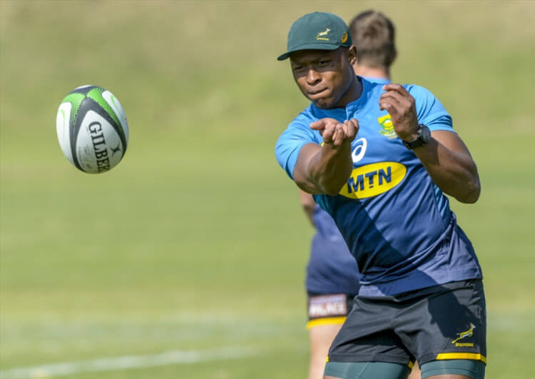 Three new caps in revamped Bok side