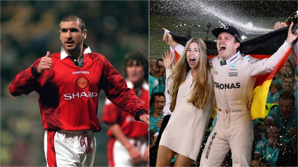 Cantona, Rosberg and other surprise retirements after Warburton hangs up his boots