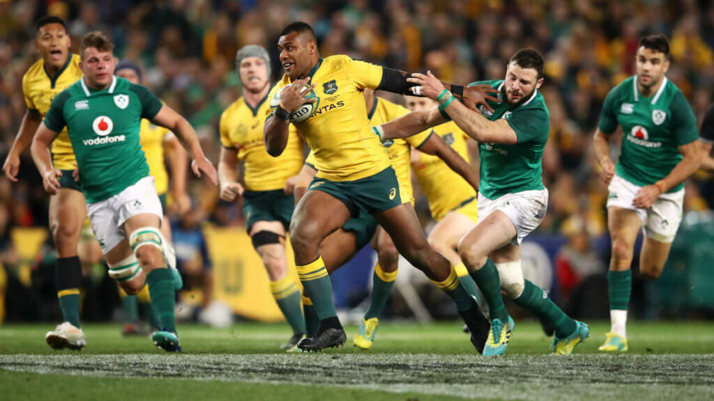 Kerevi's season over after biceps surgery