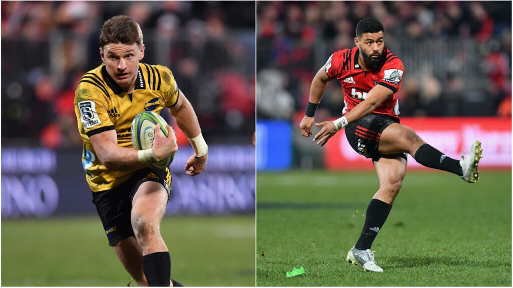 Carter tips Barrett to hold off Mo'unga for All Blacks' 10 jersey