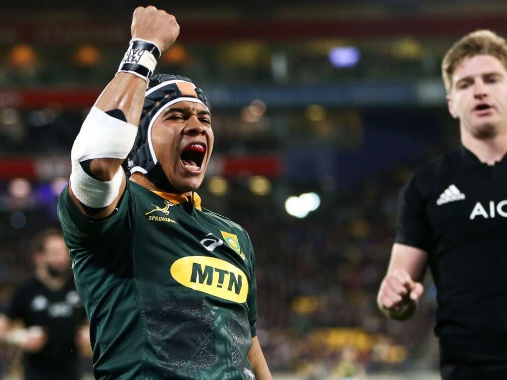 Kolbe and Notshe secure first Springbok starts