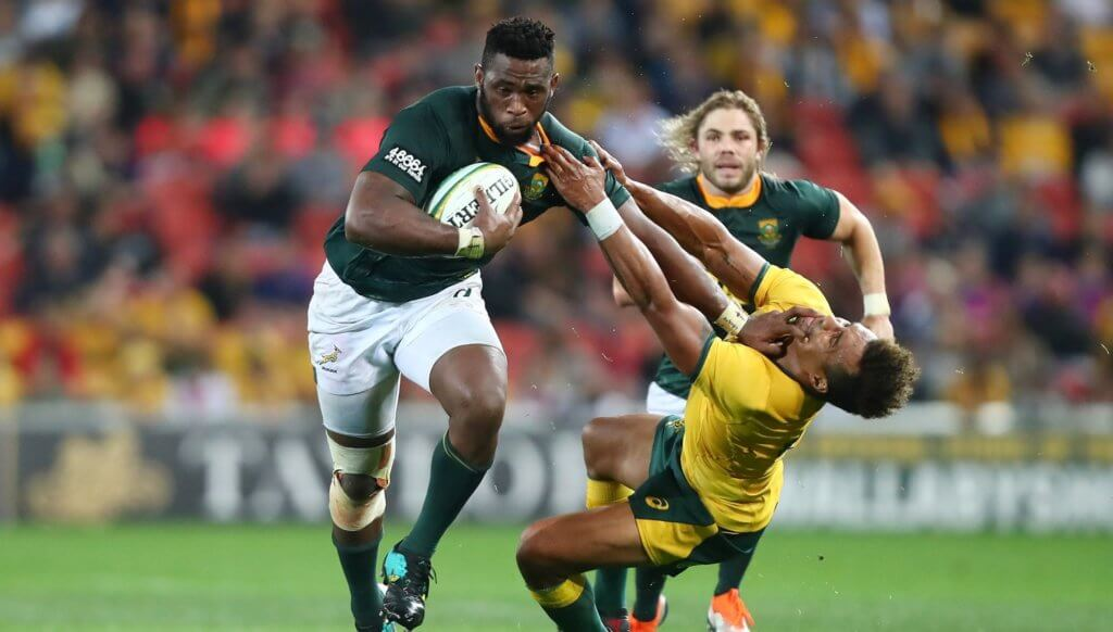 """Siya is a """"strong contender"""" for RWC captaincy says Erasmus"""