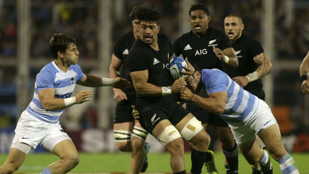 All Blacks beat Pumas to retain Rugby Championship crown
