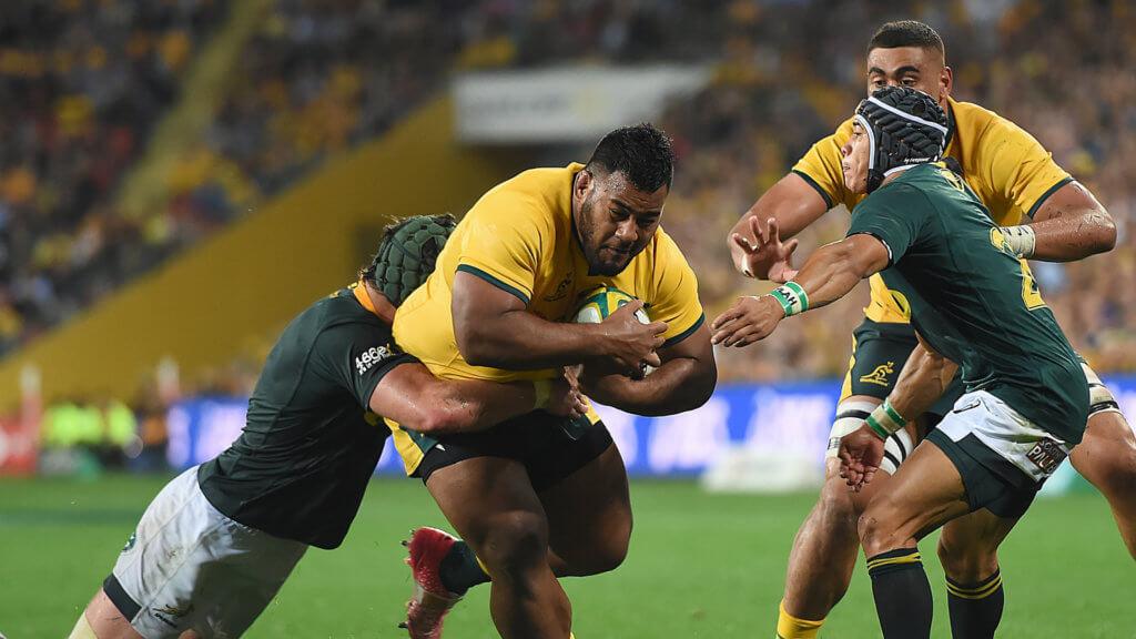 Under-fire Cheika to unleash Tupou against Springboks