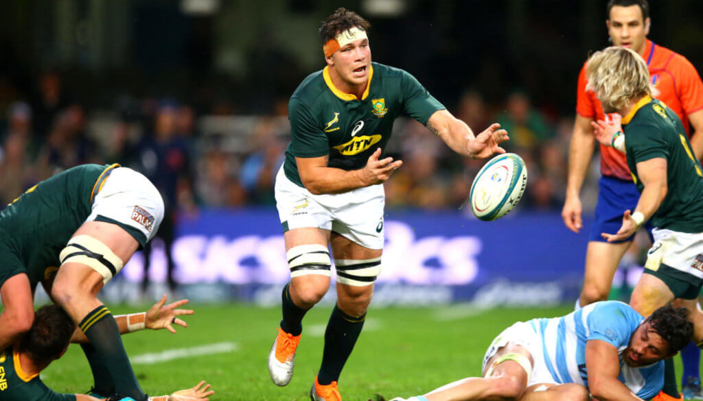 Boks look to Louw for All Blacks battle as Rassie names his side