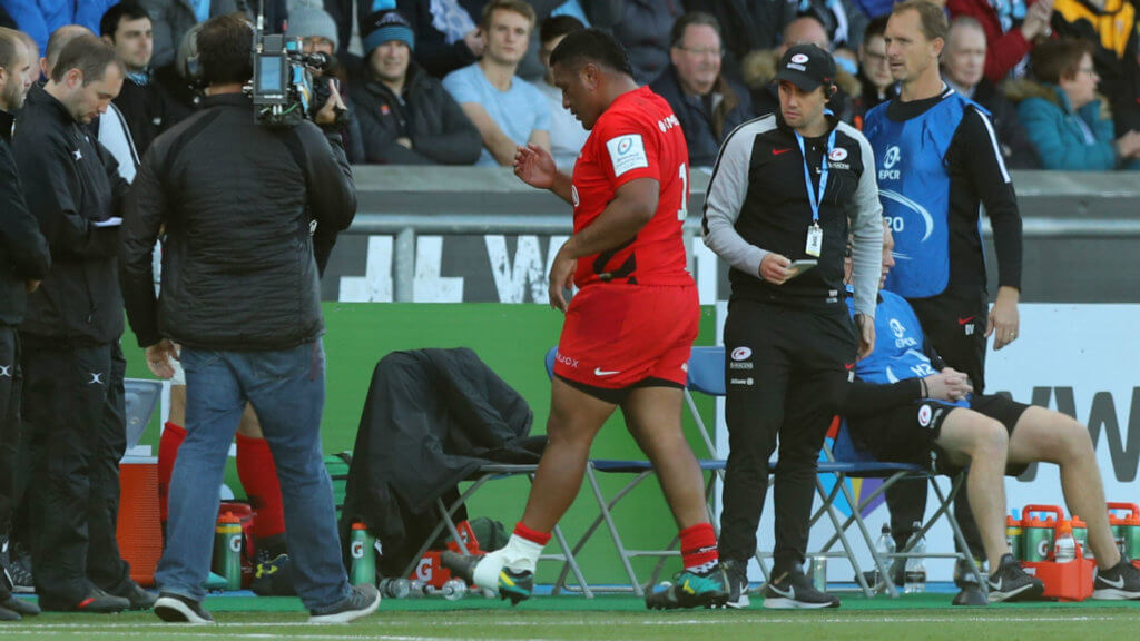 England hit by another Vunipola injury absence