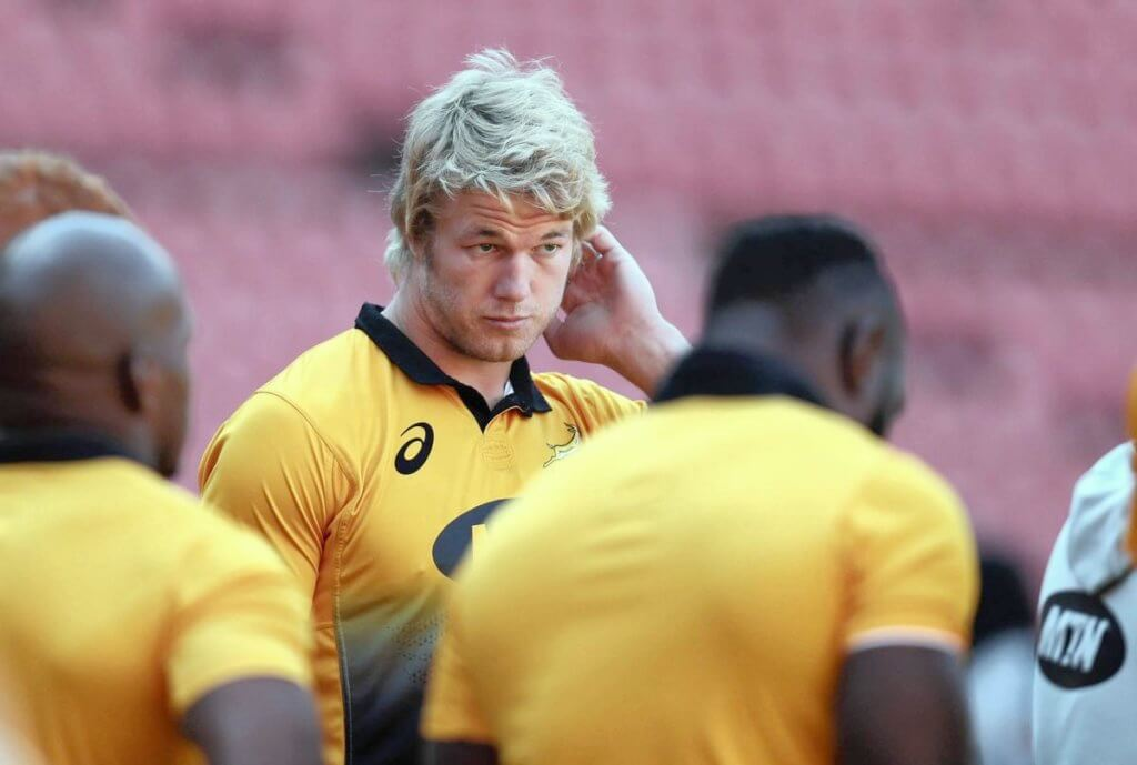 Rassie must trust lock depth and keep Pieter-Steph at flank