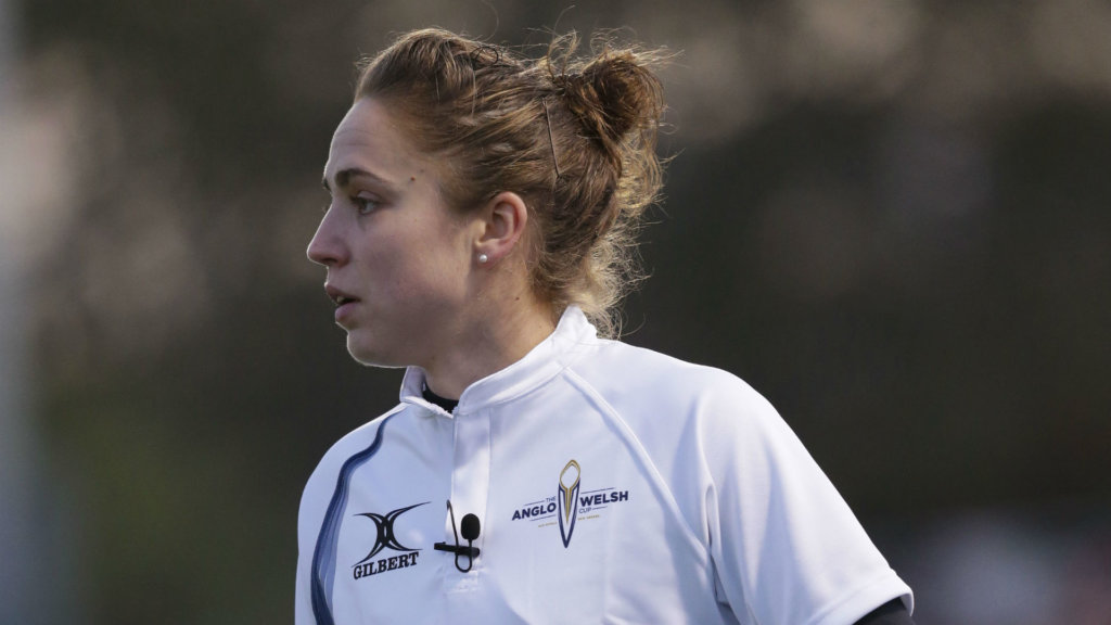 Referee Sara Cox to make history in Wasps v Northampton Saints