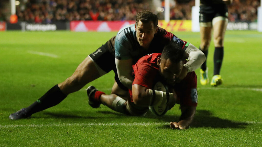 Sarries and Tigers claim derby wins, Cipriani stings Wasps