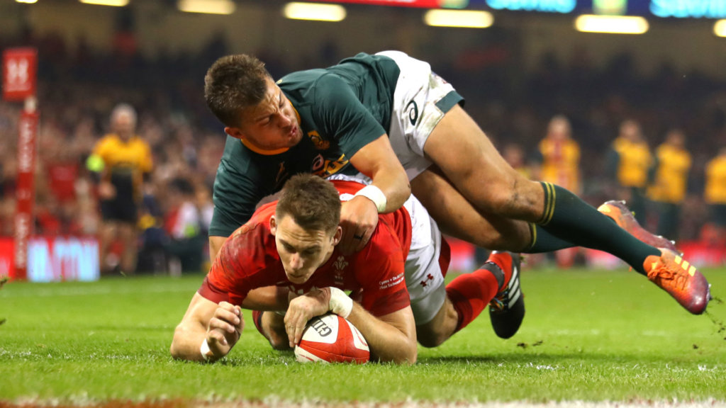 Wales see off Springboks for ninth successive win