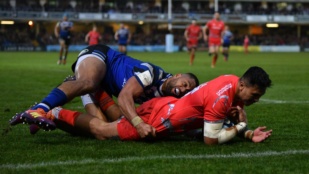 Sale off the bottom but Bath battle back to secure draw