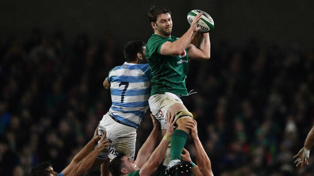 Ireland lock Henderson to make Ulster return