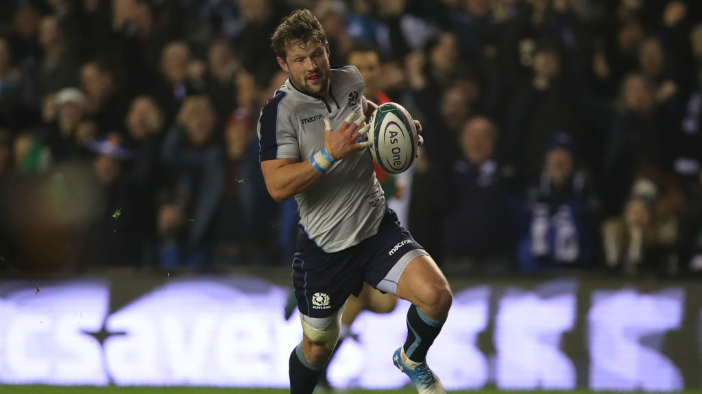 Horne replaces Russell for injury-hit Scotland in Paris