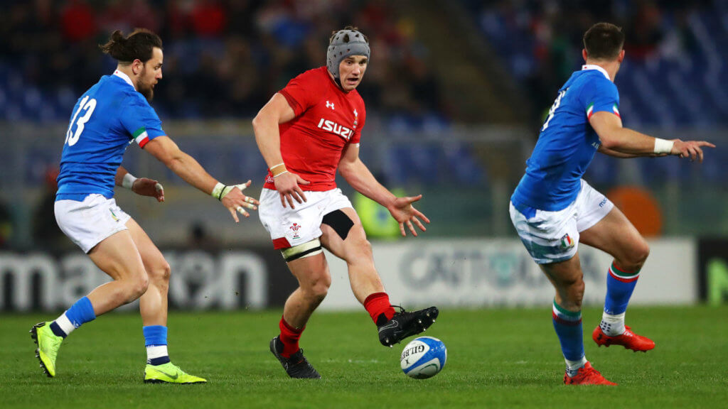Wales captain Davies frustrated despite win over Italy