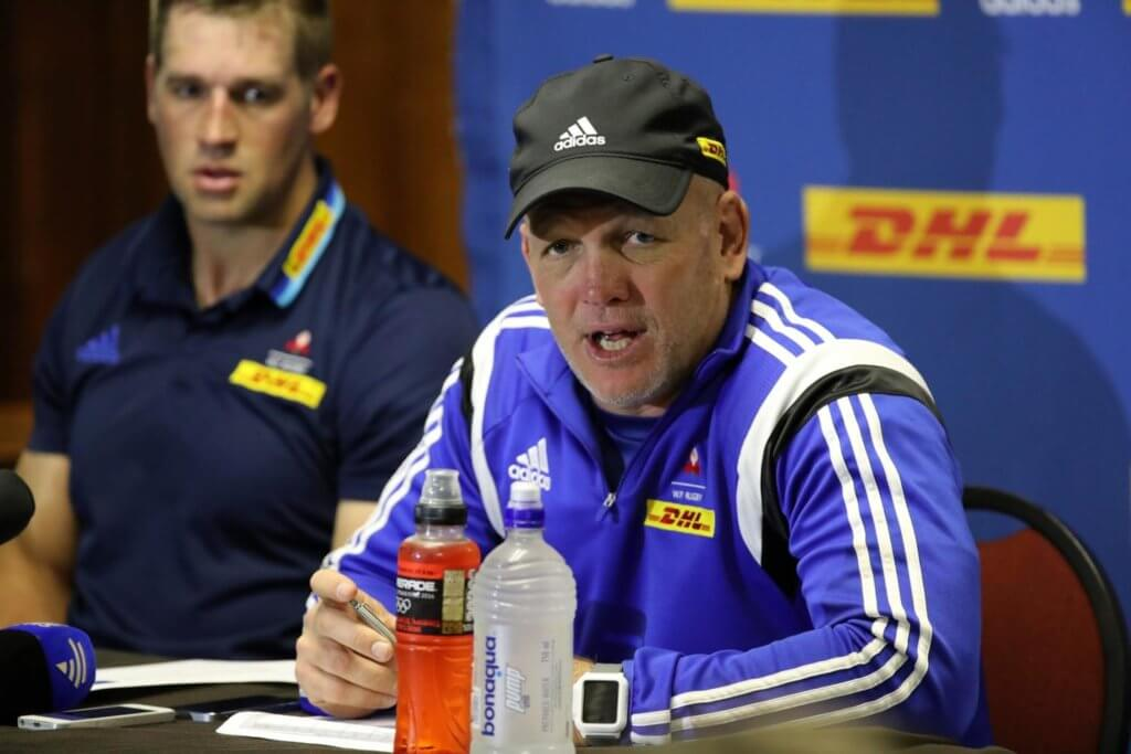 John Dobson replaces Robbie Fleck as Stormers coach