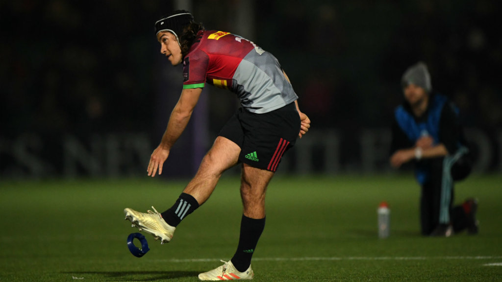 Harlequins leave it late to book semi-final place