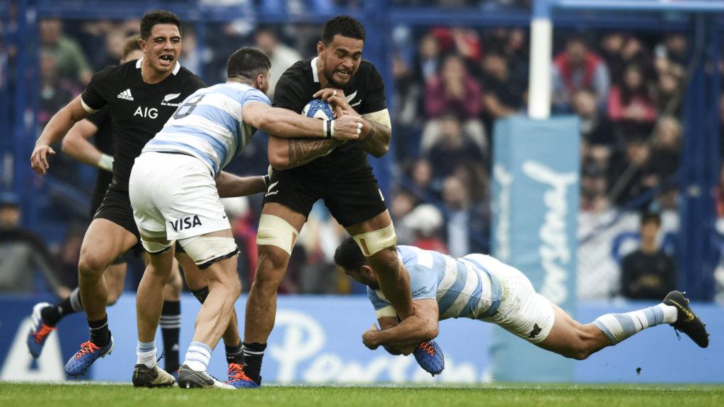 Argentina 16-20 New Zealand: All Blacks pip plucky Pumas