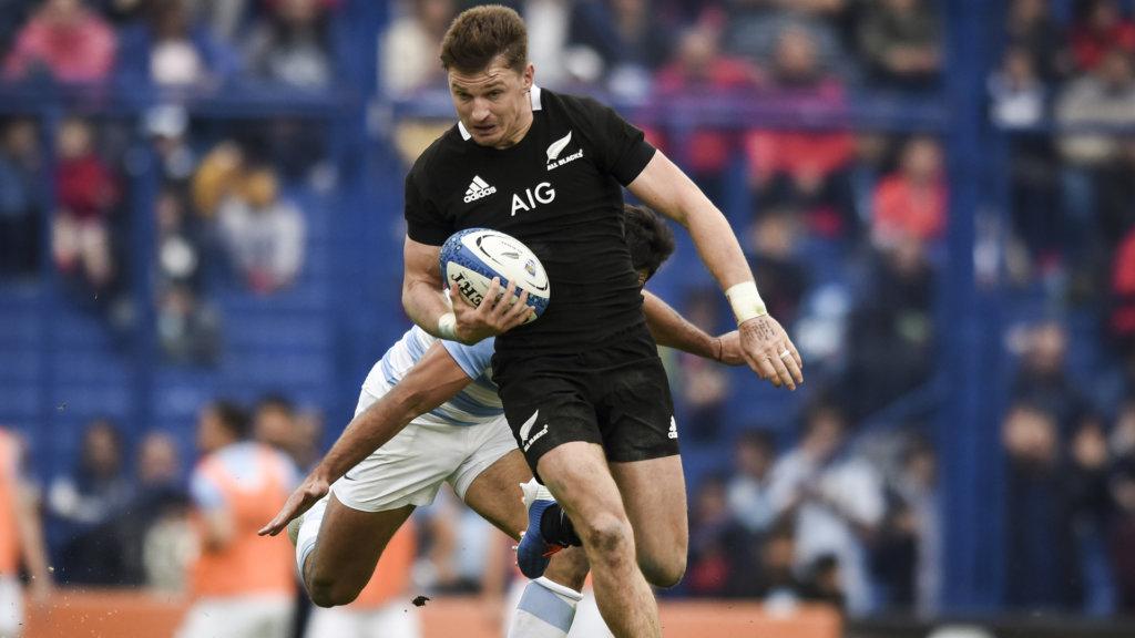 All Blacks move Barrett to full-back for Springboks clash