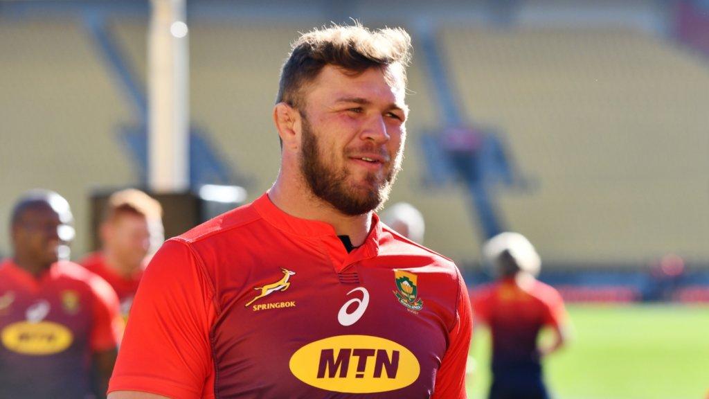 'Honoured' Vermeulen plans to lead Springboks by example