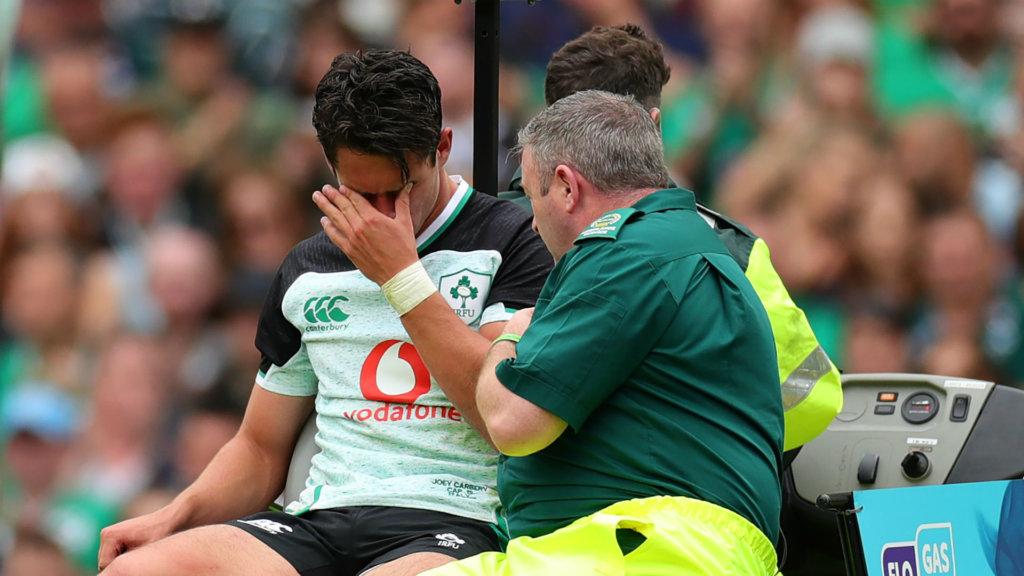 Ireland await news of Carbery injury