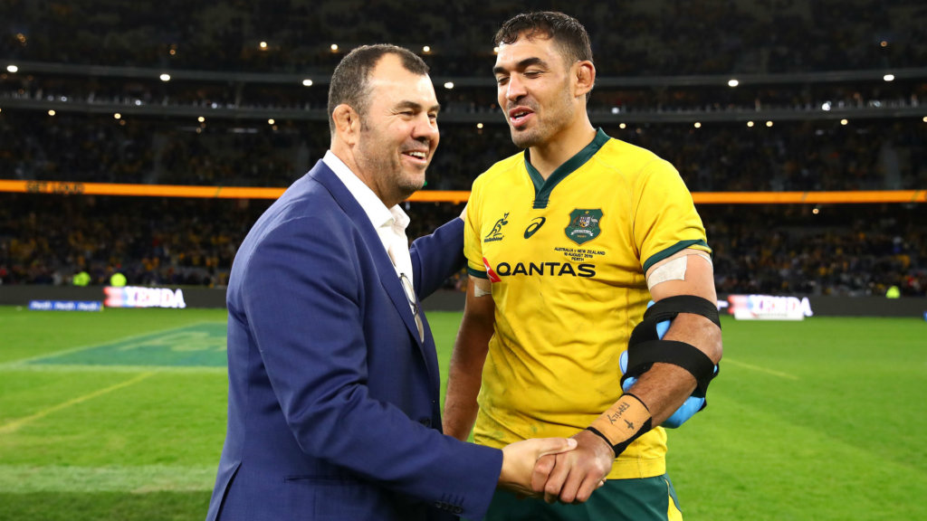 All we've done is bought a ticket to Auckland - Wallabies boss Cheika