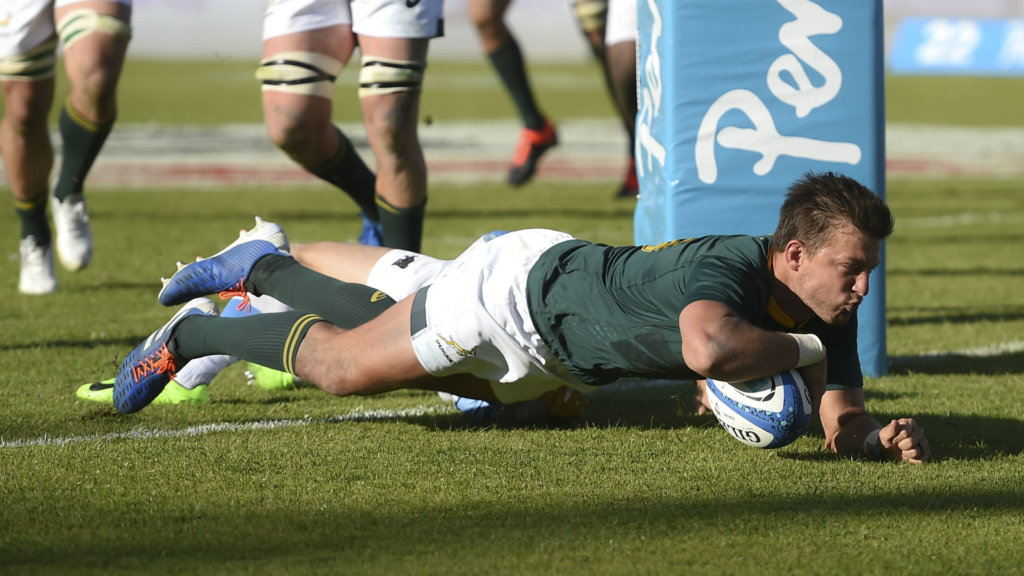 Argentina 13-46 South Africa: Pollard inspires Springboks to Rugby Championship triumph