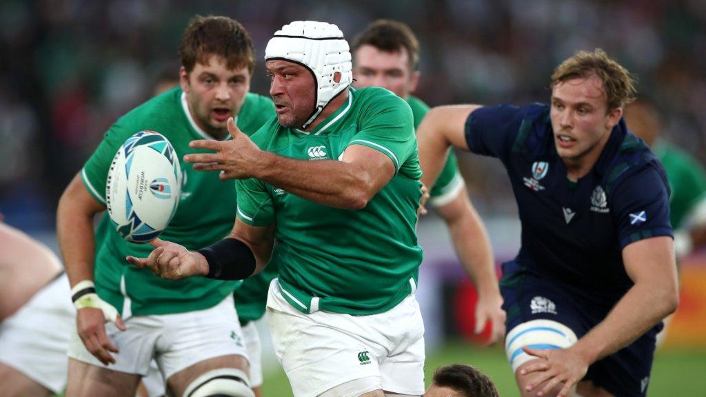 Rugby World Cup 2019: Ireland 27-3 Scotland