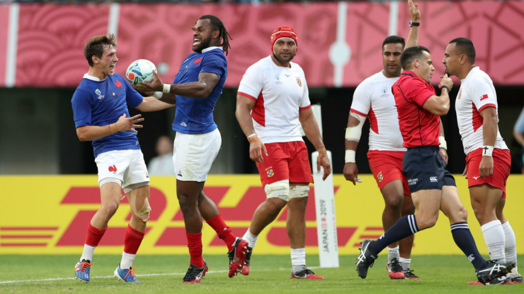 Rugby World Cup 2019: France 23-21 Tonga