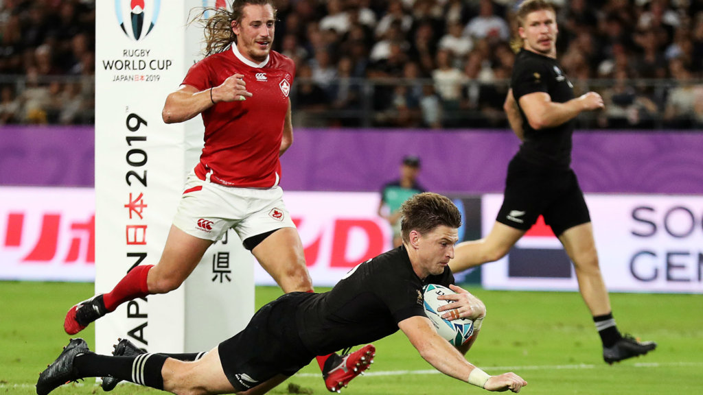 Rugby World Cup 2019: New Zealand 63-0 Canada