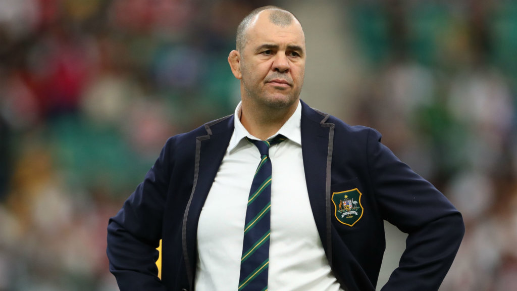 Rugby World Cup 2019: Distraught Cheika says Wallabies 'gave it everything'