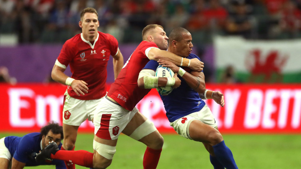 Rugby World Cup 2019: Moriarty feared he would be seeing red