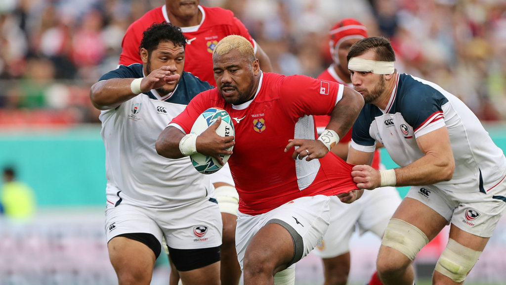 Rugby World Cup 2019: Tonga hooker Ngauamo gets seven-week ban for kicking opponent
