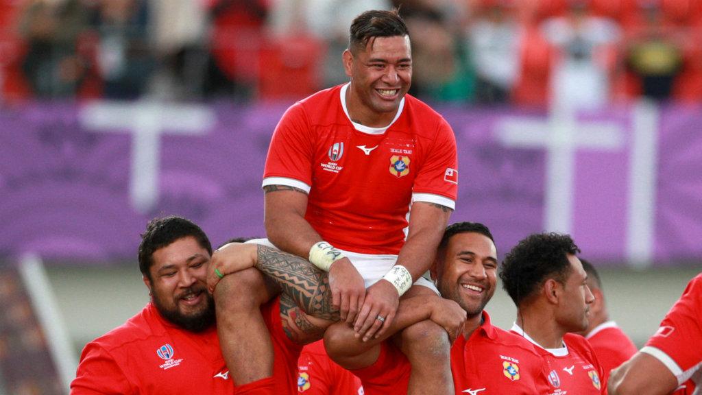 Rugby World Cup 2019: Retiring Tonga captain Piutau dedicates birthday win to his late sister