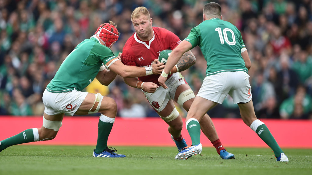 Rugby World Cup 2019: Davies, Moriarty to start for Wales against Fiji