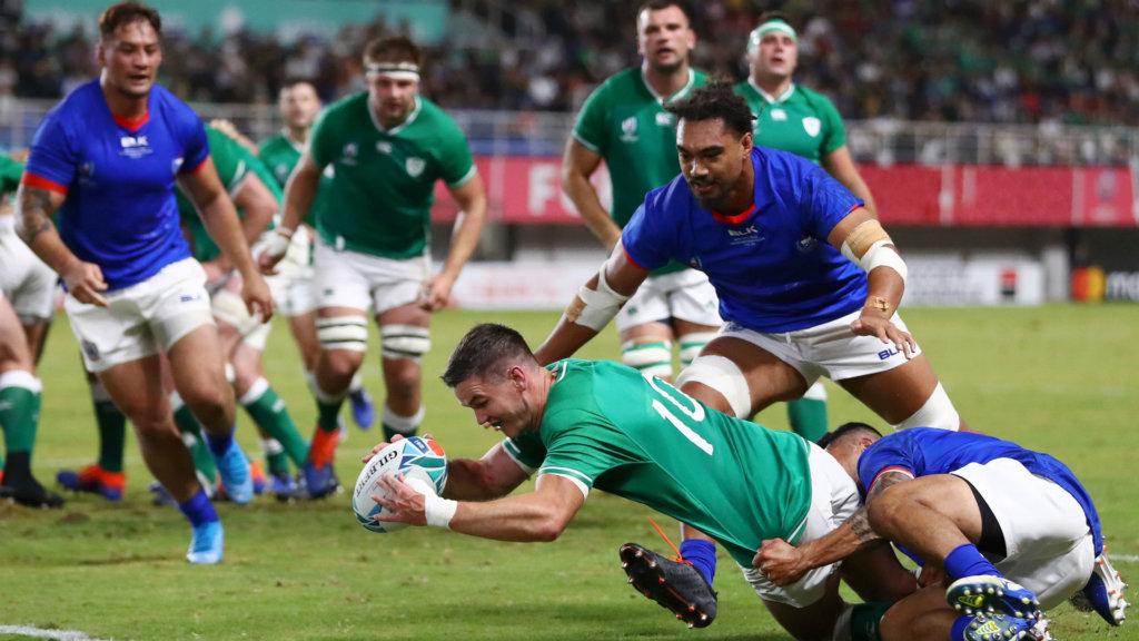Rugby World Cup 2019: Ireland 47-5 Samoa