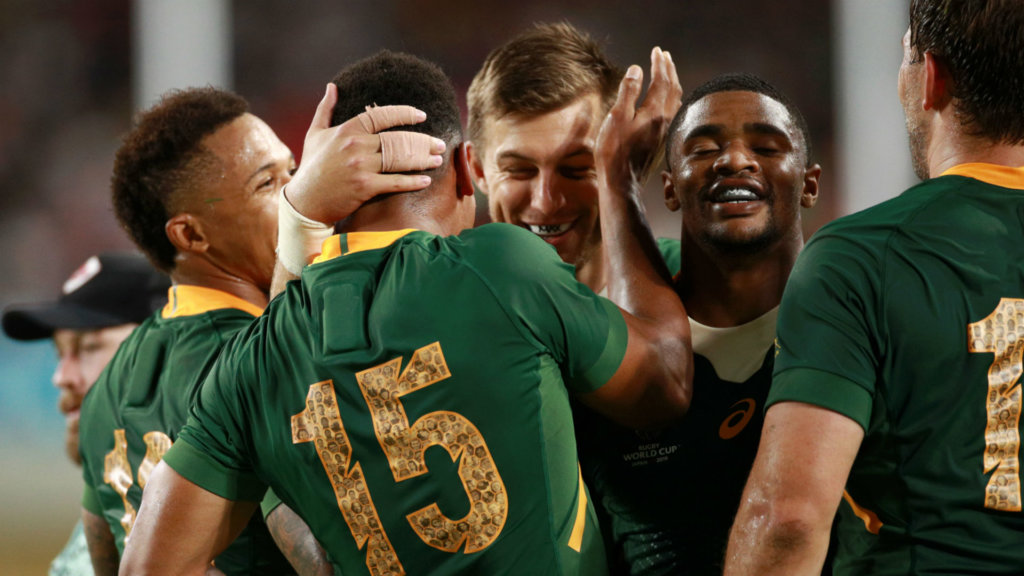 Rugby World Cup 2019: South Africa 66-7 Canada